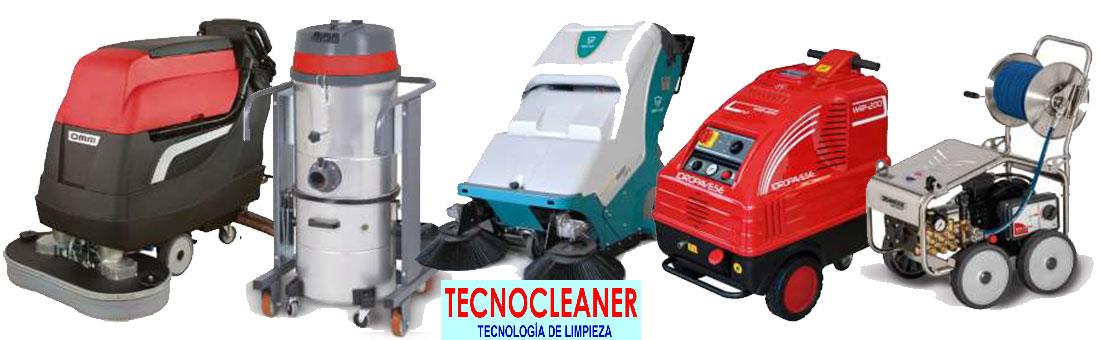TecnoCleaner, Maquinaria de limpieza