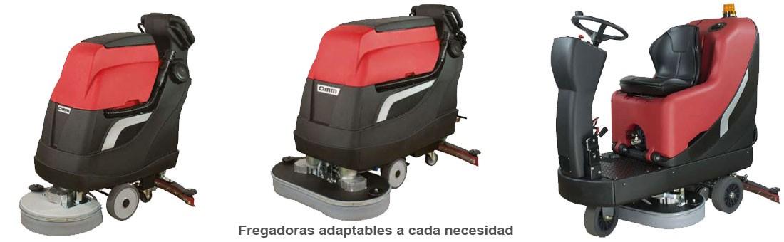 Fregadoras adaptables a cada necesidad